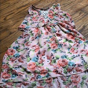 Hi low girls dress